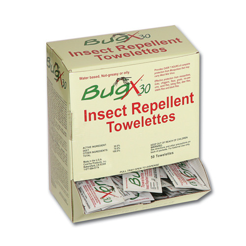 Insect Towelettes - Bug X