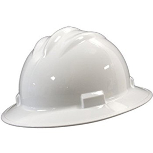 6 Point Suspension Rachet Full Brim Hard Hat