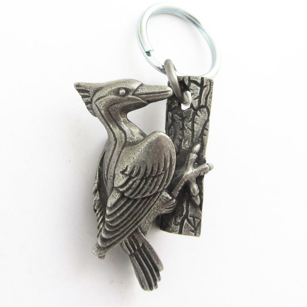 woodpecker keychain