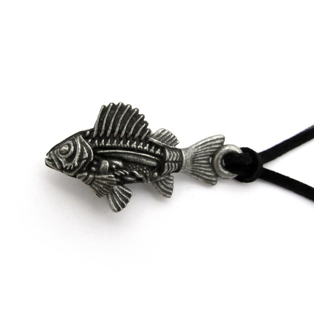 fish anatomy necklace