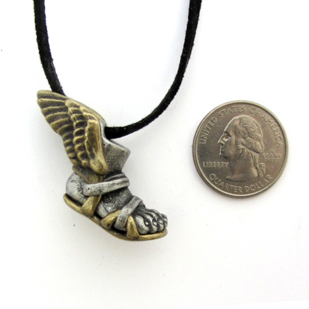 talaria necklace with us quarter