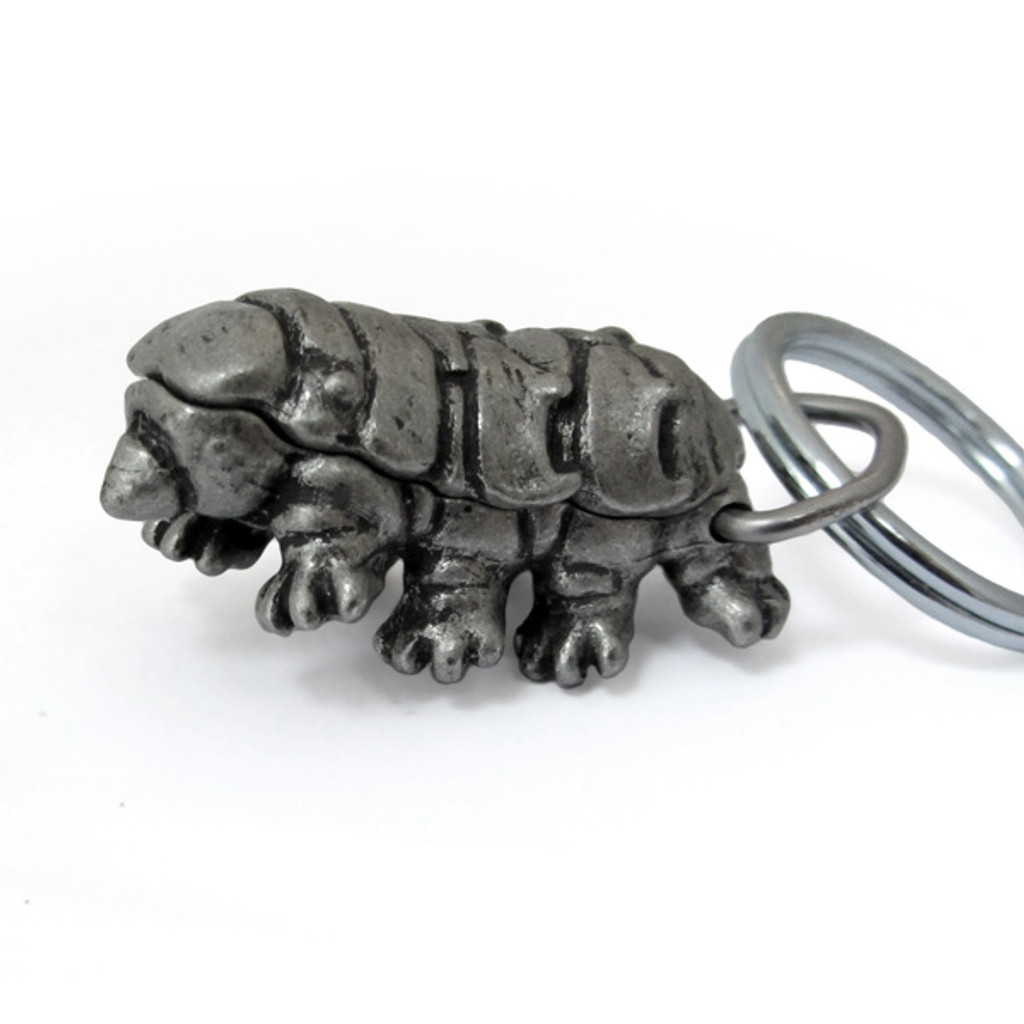 Tardigrade Locket Keychain
