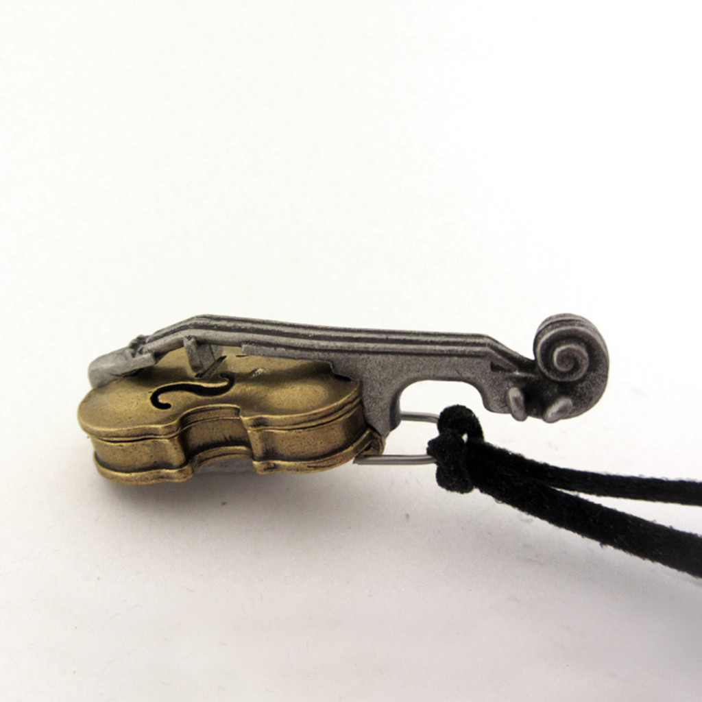 taylorcustom violin locket