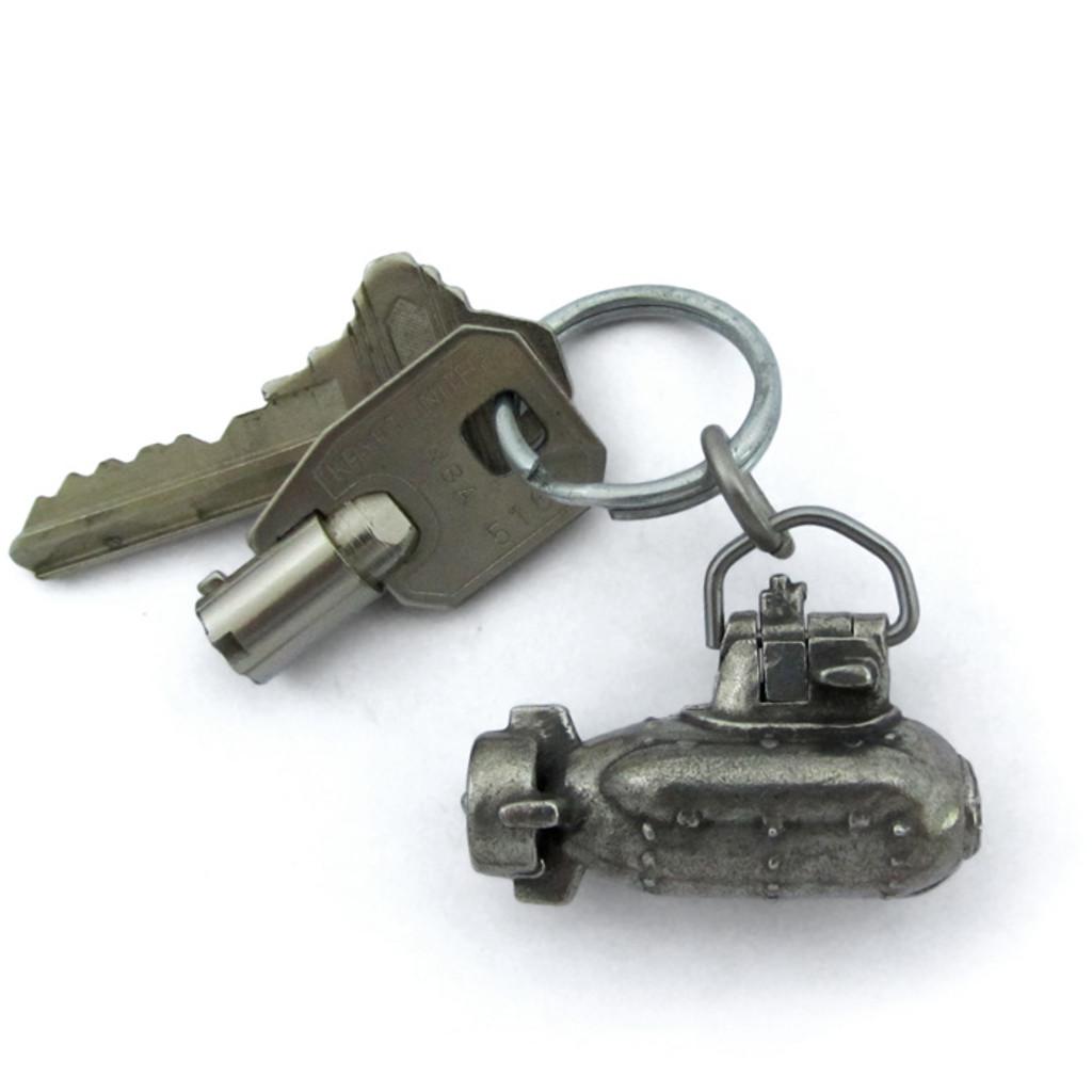 submarine keychain