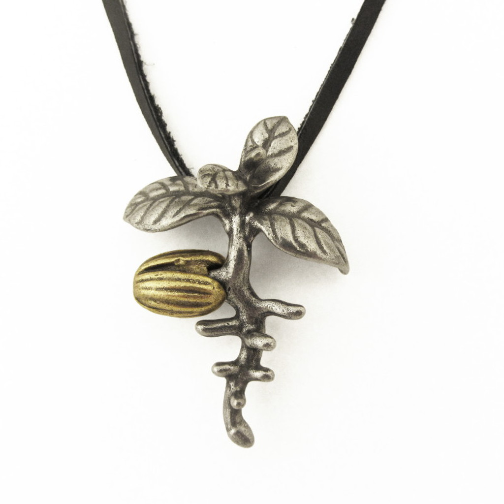 olive seedling pendant