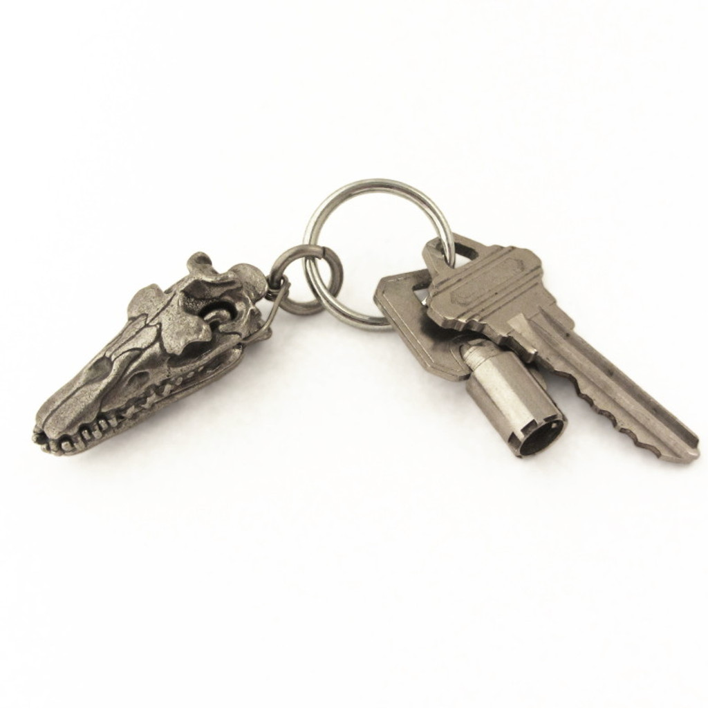 Dorudon Skull Keychain