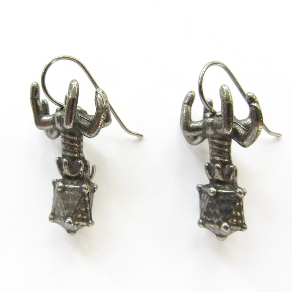 Bacteriophage Earrings