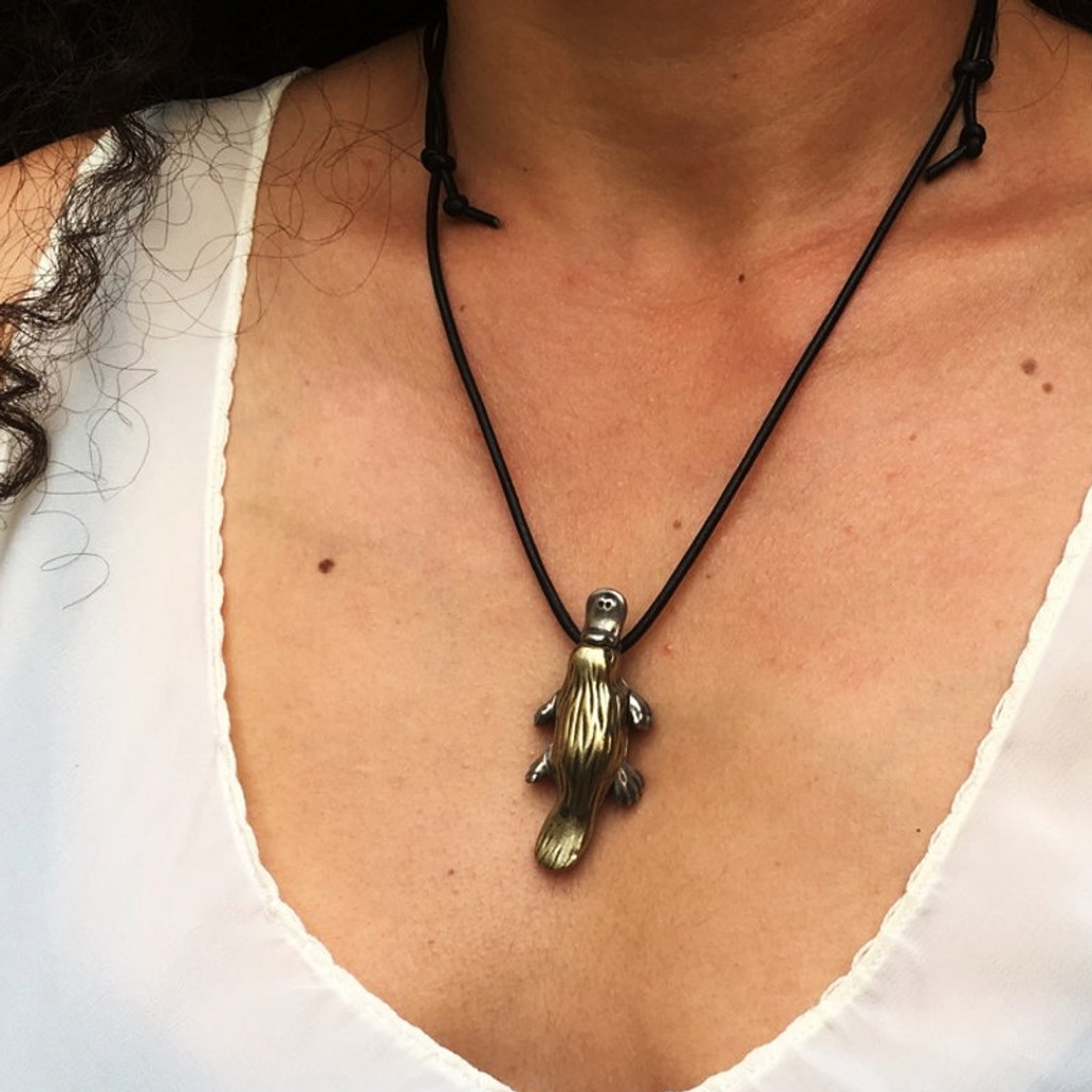 Duck Billed Platypus Necklace