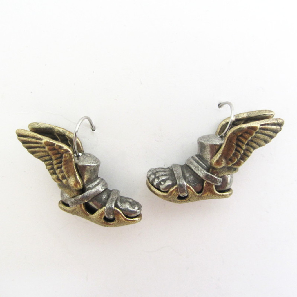 Talaria winged sandals earrings