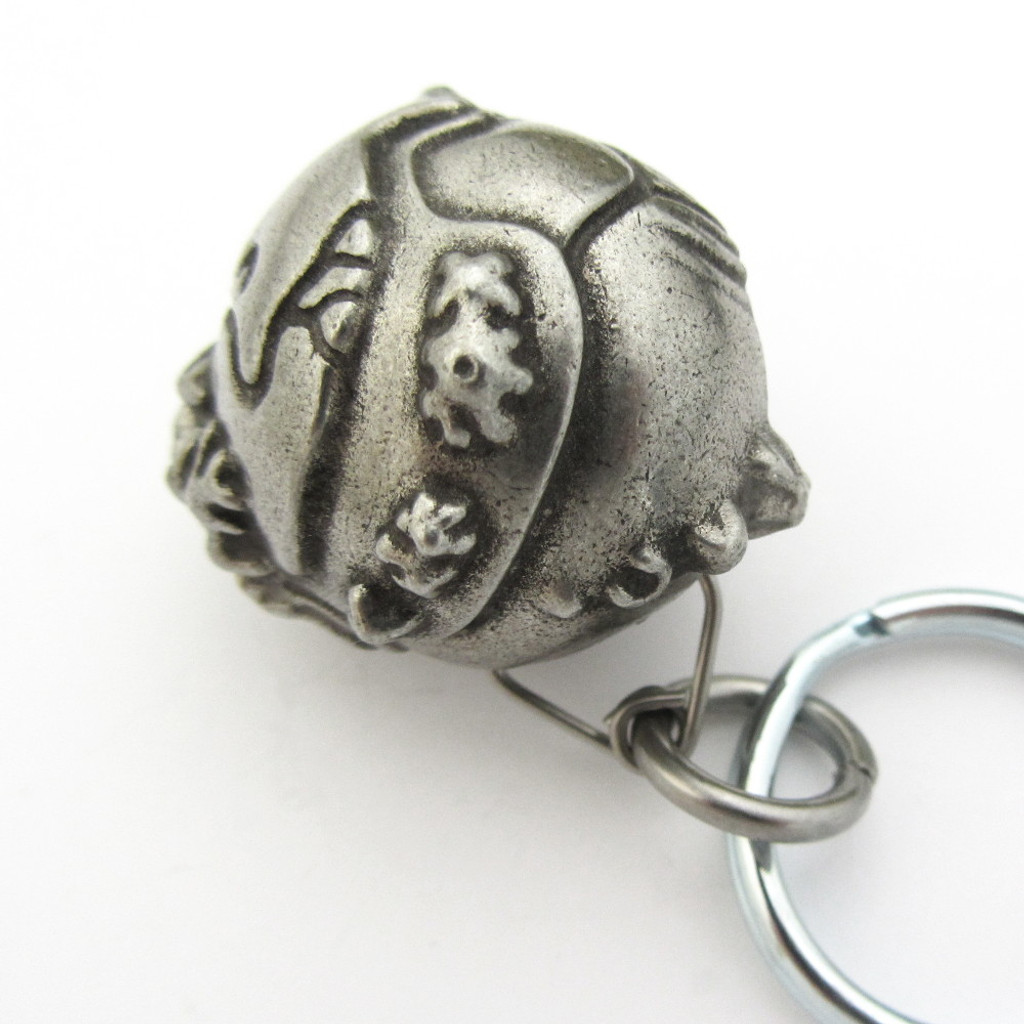 plate tectonic planet keychain