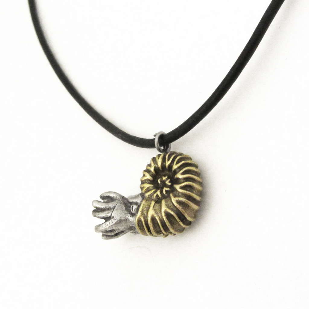 ammonite necklace