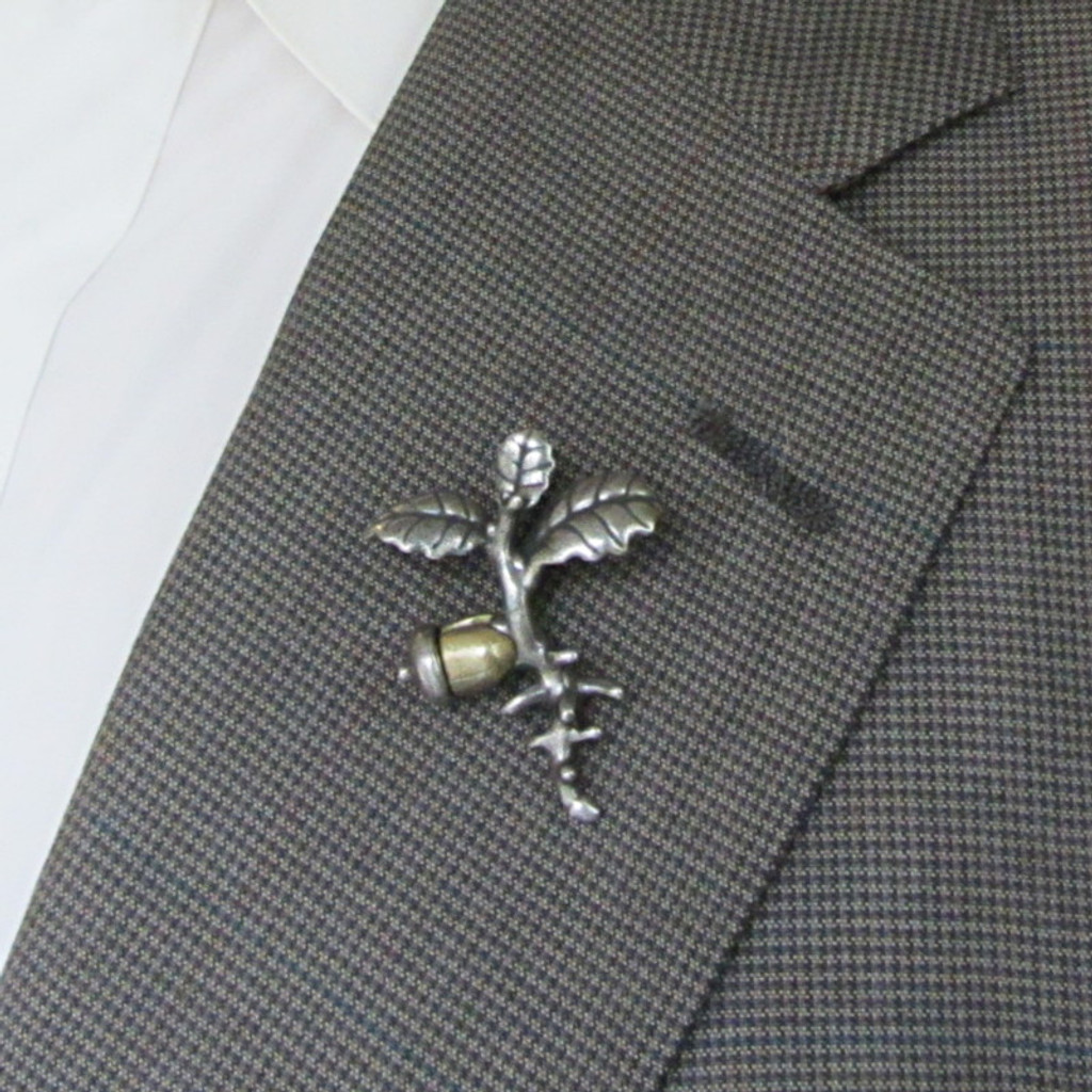 Oak Seedling Lapel Pin