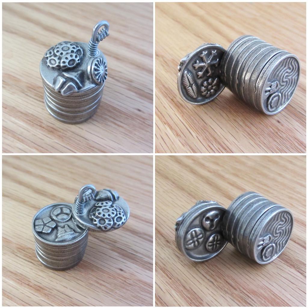 Micropaleontology Keychain