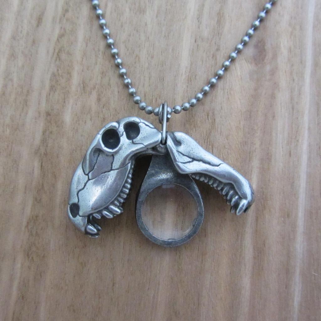 Dimetrodon Skull Necklace