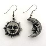 sun and moon earrings