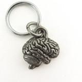 human brain keychain