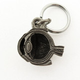eye anatomy keychain