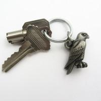 Falcon Keychain or Zipper Pull