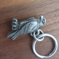 peregrine falcon keychain