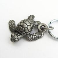loggerhead sea turtle keychain