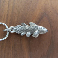 coelacanth keychain
