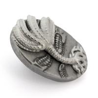 crinoid lapel pin