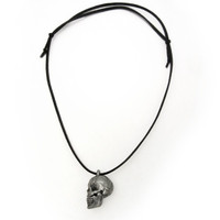 Human Skull Anatomy Locket Necklace