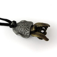 Cuttlefish Necklace ventral side
