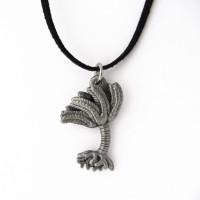 crinoid pendant (reverse side)