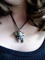 hermit crab necklace
