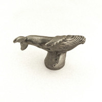 humpback whale drawer pull