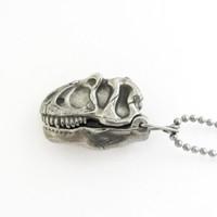 Allosaurus Skull Magnifier in closed position