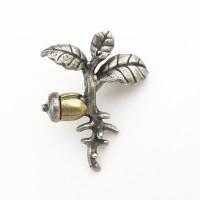Oak Seedling Lapel Pin