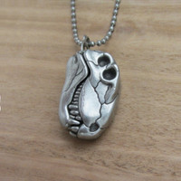Dimetrodon SkDimetrodon Skull Necklaceull Necklace