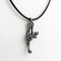gibbon ape necklace