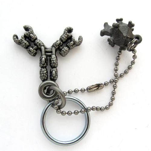 antibody with virus keychain