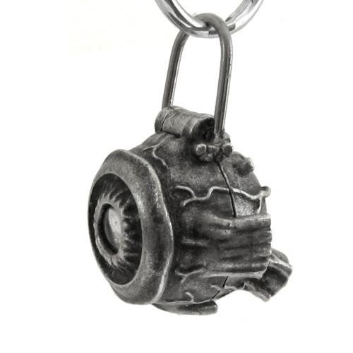 anatomical human eye keychain