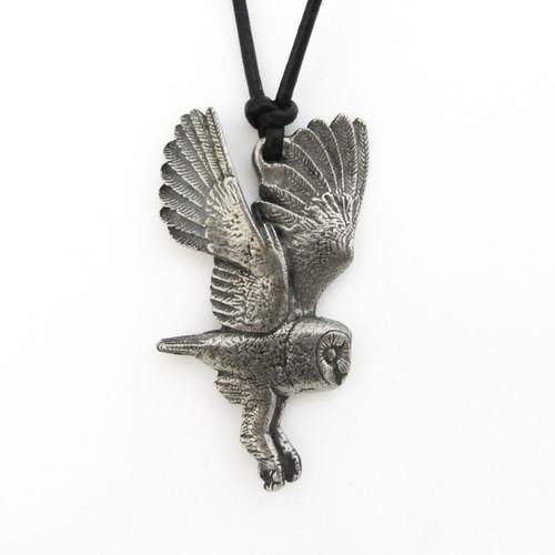 Barn Owl Necklace