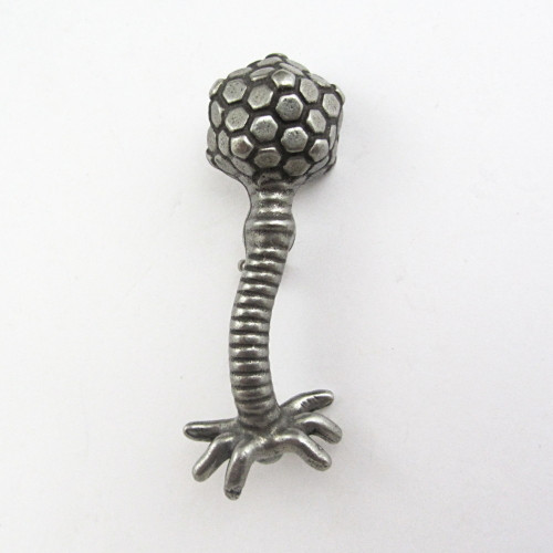 T bacteriophage lapel pin