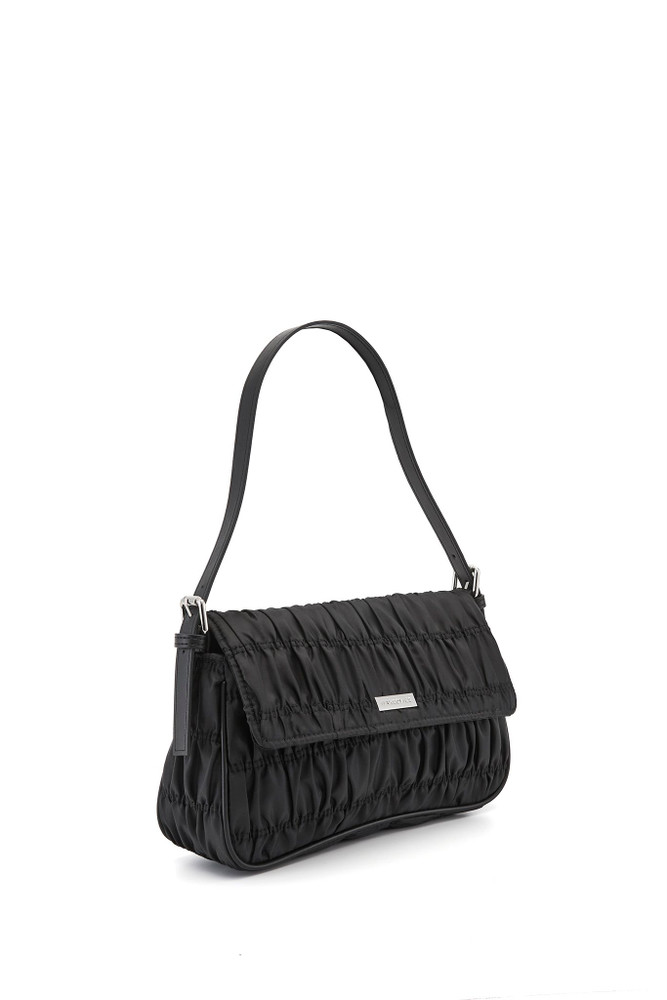 Nakedvice The Silvie Ruched - Black/Silver