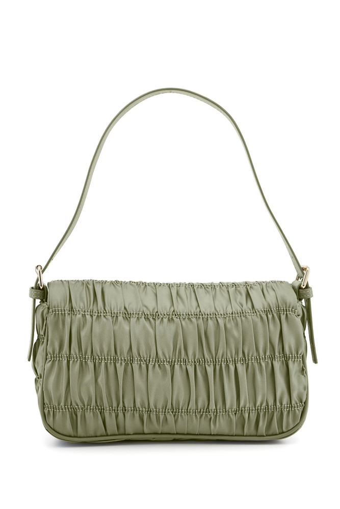 Nakedvice The Silvie Ruched - Sage/Gold