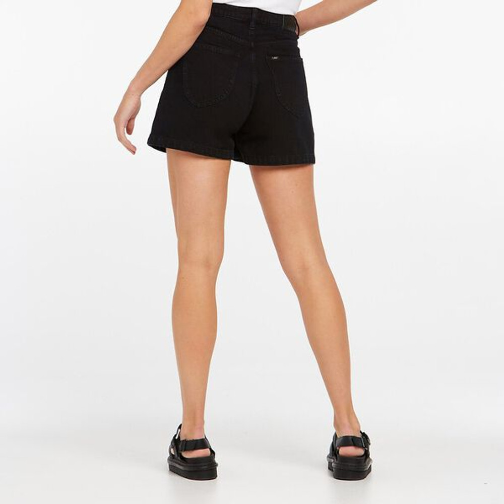 Lee High Relaxed Short - Empire Black