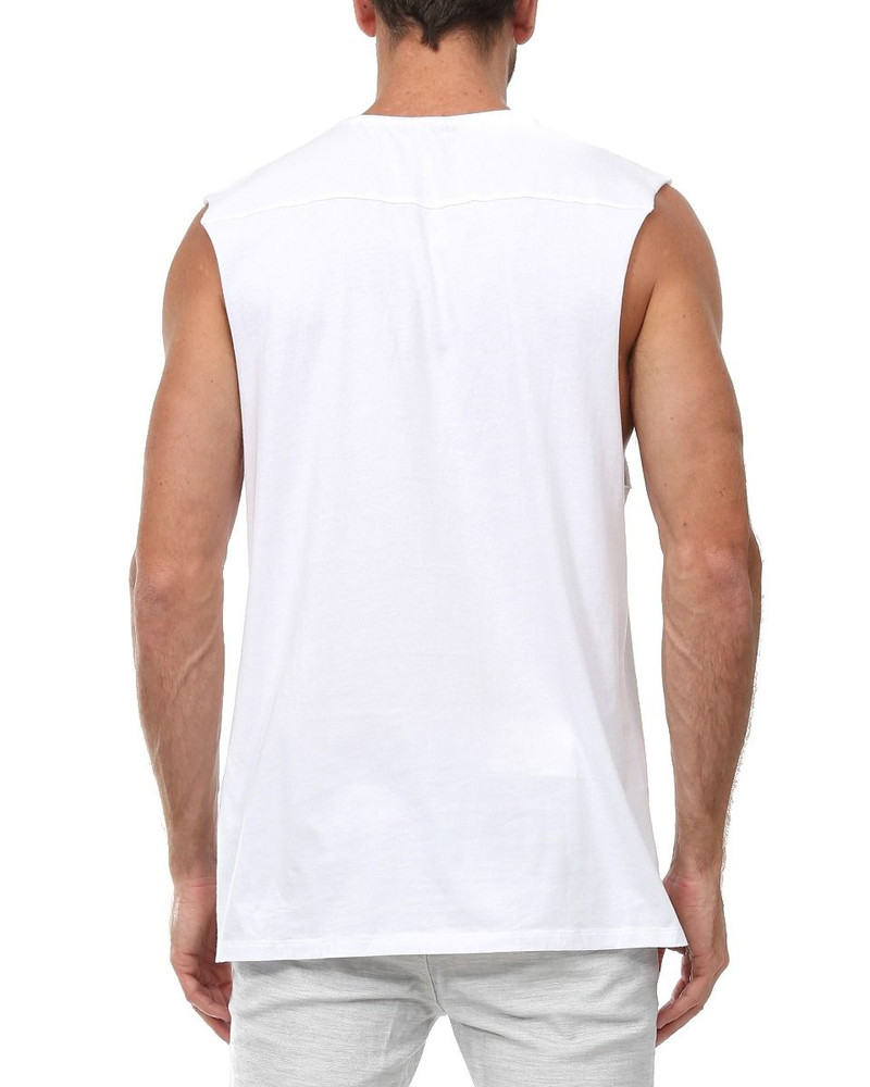Industrie Basic Muscle - White