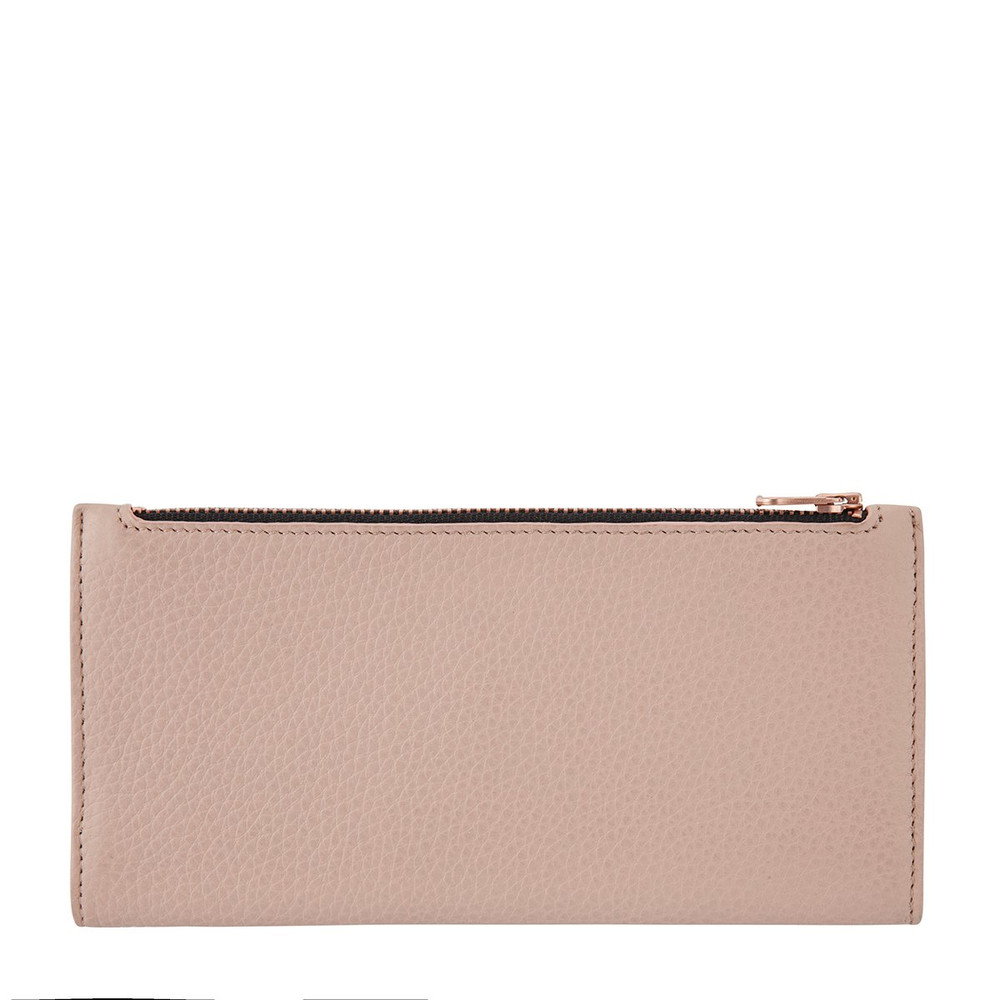 Status Anxiety In The Beginning Wallet - Dusty Pink