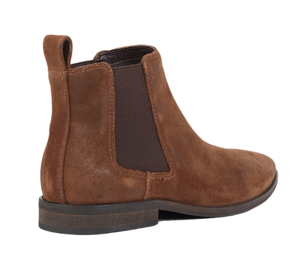 Croft Camden Boot- Tan Oil Suede