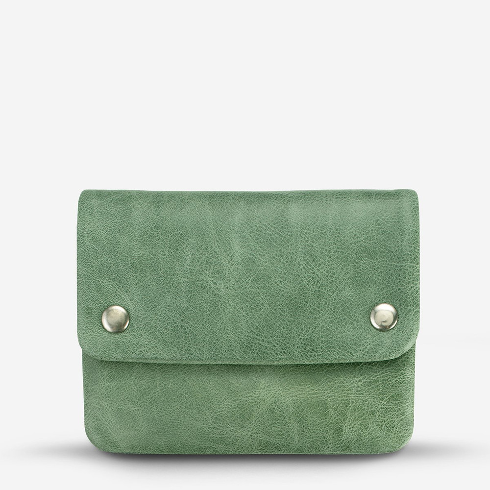 Status Anxiety Norma Wallet - Emerald