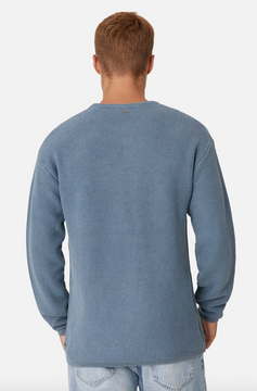 Industrie Washed Culver Knit - Blue Slate