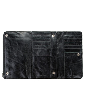 Status Anxiety Audrey Wallet - Black