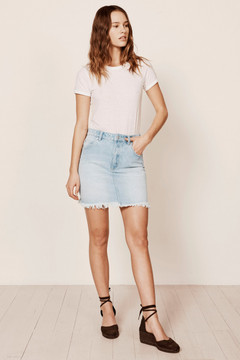 Rolla's High Mini Skirt - Horizon Blue