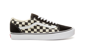 Vans Old Skool Lite Checkerboard - Black/White